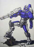 Galvatron WW2 by Jutami