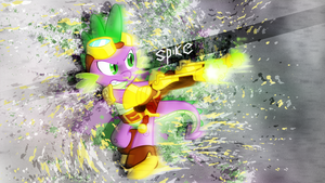 Spike Wallpaper by JeremiS