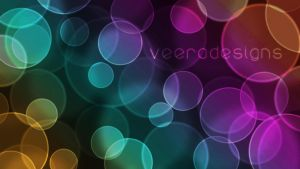 Bokeh Wallpaper by veeradesigns