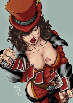 Mad Moxxi by Gigabeto
