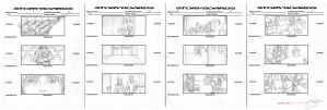 The Apt. Storyboards Part II by mavartworx