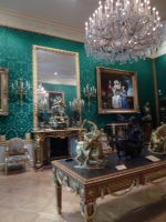 Wallace Collection baroque interiror stock by photodash