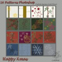 happy Xmas patterns by libidules