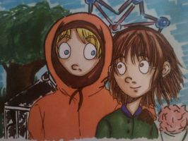 South Park: Kenny and Karen by Millie-Rose13