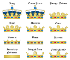 Crowns by SirJohnRafael