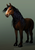 Horse by Nuffin