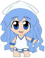 Chibi: Ika Musume by animereviewguy