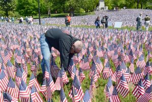Memorial Day, Sea Of Flags 11 by Miss-Tbones
