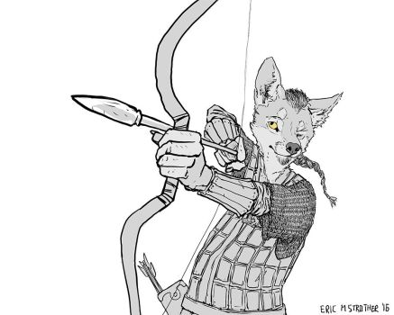 Coyote Archer by Everruler