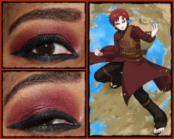 Eye Design: Gaara by MakeupSiren