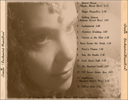 cd jewel case back.-& titles of Songs-Tessie by tessieart333