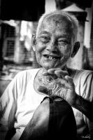Grandpa's Smile by wilsen