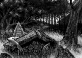 The Tomb's Woods by headpie