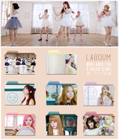 LABOUM What about you Folder Icons by Icetaem