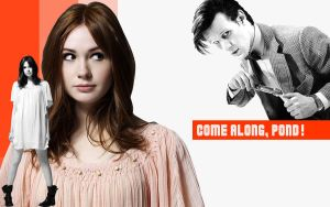 Amy Pond Wallpaper by lieutenantsubtext