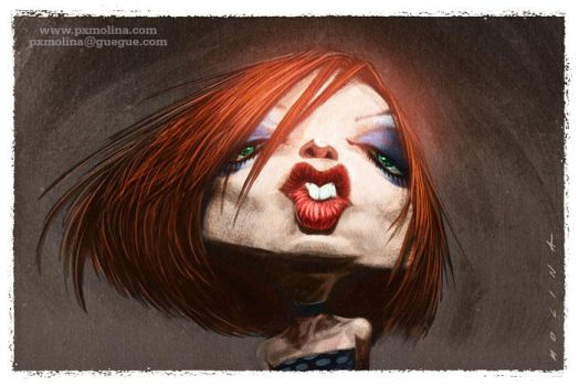 Shirley Manson by pxmolina