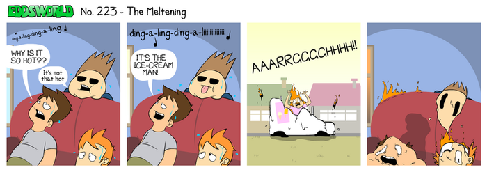 EWCOMIC No. 223 - The Meltening by eddsworld