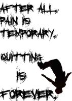 pain is temporary -revised- by BeatNickBarney