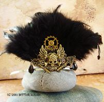 Fan Dance Steampunk Tiara by LaOubliette