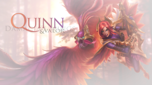 Quinn And Valor Wallpaper - League Of Legends by SonsOfParagon