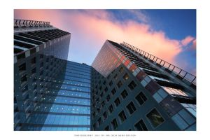 Europe Tower - sunset by DimensionSeven