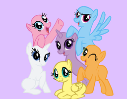 -REQUEST- Base 10- Friendship is Magic by xorderlyxchaosx