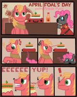 Pinkie Pyro's Pranks - part 1 by SparkyThePegasus