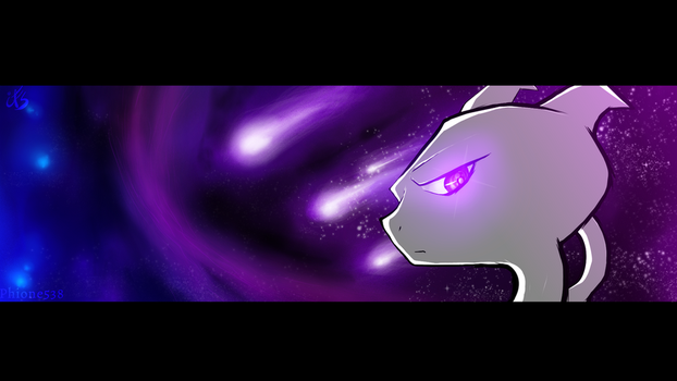 Badass Mewtwo in Spaaaceee~~! ^w^ HD Wallpaper by Phione538