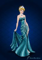 Royal Jewels Dress Edition: CINDERELLA by MissMikopete