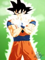 Son Goku Namek by Kalberoos
