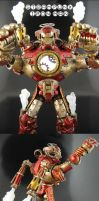Steampunk Marvel Legends Iron Man part 2 by Jin-Saotome