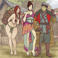 Warlord's Concubines by ColorCopyCenter