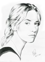 Kate winslet drawing by riefra