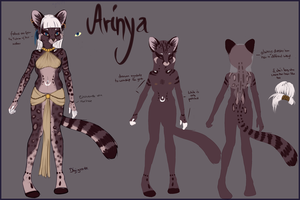 Arinya Sheet (WIP) by NicoleSt