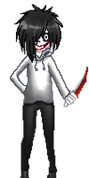 free jeff the killer journal doll by niviadragonrider