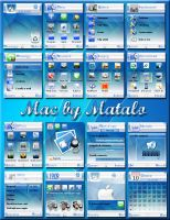 Mac theme for nokia s60v2 by Mataloo