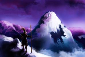 Mountain Speed Painting by MethylKy06