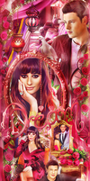Cory Monteith and Lea Michele by by-Oblomskaya