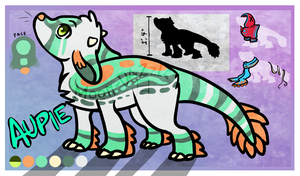 Aupie - Design For Sale! by Moon-DaZzLe