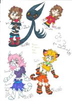 OCs that don't belong to any fandoms 2 by Kittychan2005