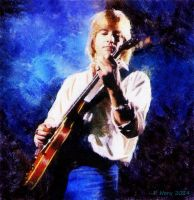 Justin Hayward of The Moody Blues by paulnery
