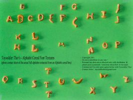Alphabits Cereal Font by ToysoldierThor