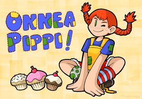 Pippi Longstocking by DoubleLeggy