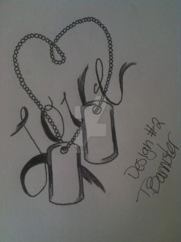Dog Tag Tattoo Design #2 by HatakeReina