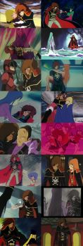 Captain Harlock and Women - an Uneasy History by TheWolfPoet23