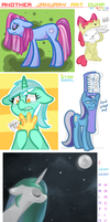 MLP: Jan art dump 2 by TheKnysh