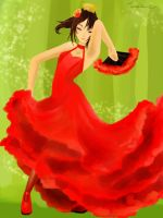 Flamenco by Tamakichi