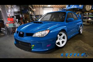 Blue Evil Impreza WRX by LiTTLE777