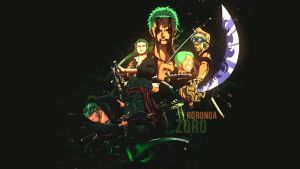 Roronoa Zoro Wallpaper by dani17k
