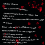 DEACTIVATING ACCOUNT by xXEternal-HetalianXx